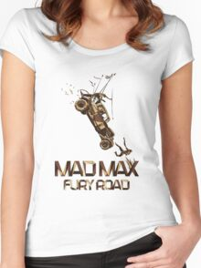Mad Max Fury Road Women's Fitted Scoop T-Shirt