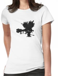 The Second City of Angels - Black Womens Fitted T-Shirt