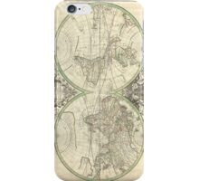 Vintage Map of The World (1691) iPhone Case/Skin