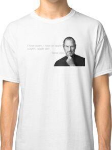 PPAP Pen Pineapple Apple Pen Quotes Parody Funny Viral Classic T-Shirt