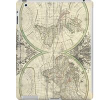 Vintage Map of The World (1691) iPad Case/Skin