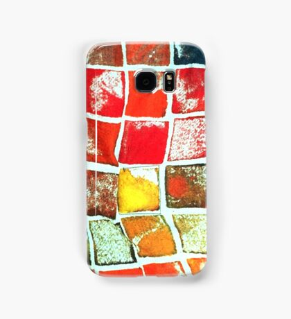 Falling Blocks Samsung Galaxy Case/Skin