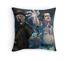 narcos/Breaking Bad Throw Pillow