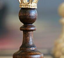 Chess King Sticker