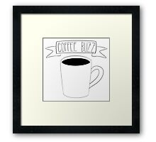 Coffee Buzz Framed Print
