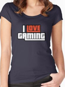 I Love Gaming Women's Fitted Scoop T-Shirt