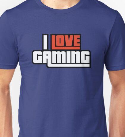 I Love Gaming Unisex T-Shirt