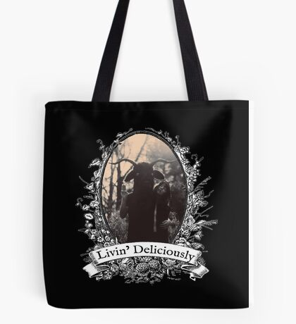 Livin' Deliciously Tote Bag