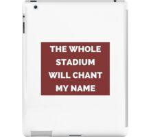 The Whole Stadium Red/Crimson iPad Case/Skin