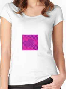 Checck Women's Fitted Scoop T-Shirt