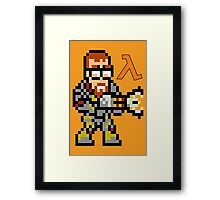 Gordon Freeman: Half Life Framed Print