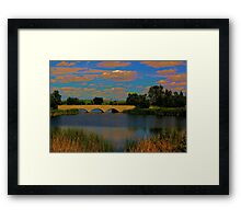 Kilcona Park Bridge Framed Print