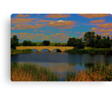 Kilcona Park Bridge Canvas Print