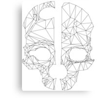 Corvo's mask Canvas Print