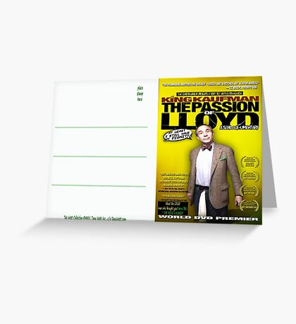 King Kaufman: The Passion of Lloyd (2008) - Movie Poster Postcard Greeting Card