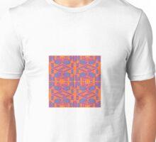 INFRARED KALEIDOSCOPIC GEOMETRIC DESIGN Unisex T-Shirt