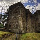 Strathaven Castle by Tom Gomez
