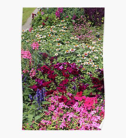 Mackinac Bridge Overlook Garden Poster