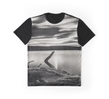 The beauty of nature. Lake scene Graphic T-Shirt