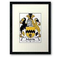 Morris Coat of Arms (Irish) Framed Print