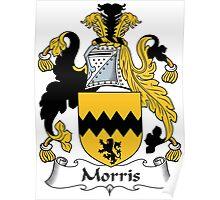 Morris Coat of Arms (Irish) Poster