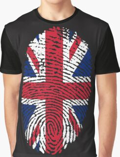 British Is In My DNA Graphic T-Shirt