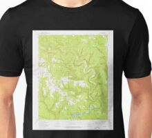 USGS TOPO Map Arkansas AR Prim 259457 1973 24000 Unisex T-Shirt