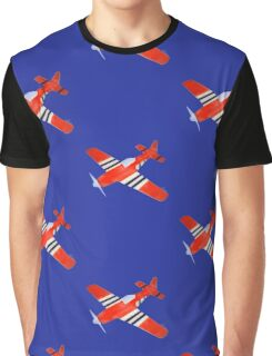 Red Airplane 10216 Graphic T-Shirt