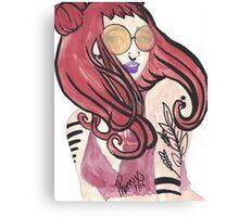 Red Head Canvas Print