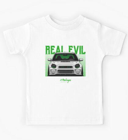 Real Evil. Subaru Impreza Kids Tee