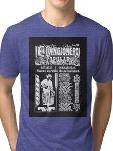 El Cancionero Popular Tri-blend T-Shirt