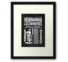 El Cancionero Popular Framed Print