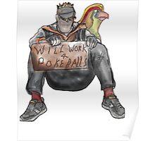 Will work for PokeBalls! Poster