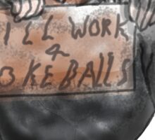 Will work for PokeBalls! Sticker