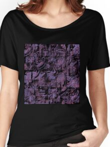 Purple town Women's Relaxed Fit T-Shirt