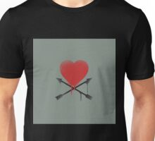Hearts and Arrows  Unisex T-Shirt