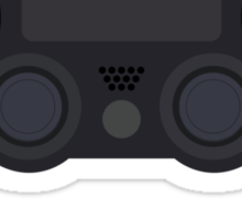 This Is For The Players - PS4 Controller Black Sticker