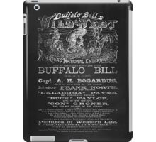 Buffalo Bill - Wild West iPad Case/Skin