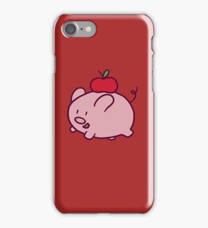 Apple Pig iPhone Case/Skin