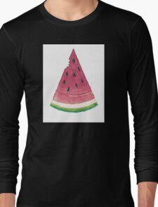 Watermelon Citrullus Lanatus Long Sleeve T-Shirt