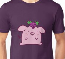 Grapes Pig Unisex T-Shirt