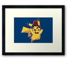 Doctor Who - Pikachu Framed Print