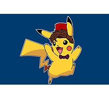Doctor Who - Pikachu Photographic Print