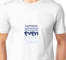 Happiness by Albus Dumbledore Unisex T-Shirt
