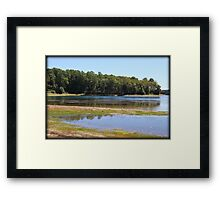 Backwash Framed Print