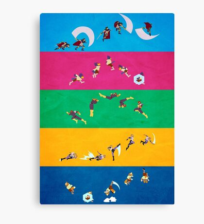 Simply Melee Poster One Canvas Print