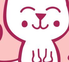 soft kitty, warm kitty, little ball of fur... Sticker