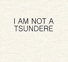I AM NOT A TSUNDERE Pullover