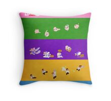 Simply Melee Poster Two Throw Pillow