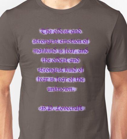 Fear itself Unisex T-Shirt